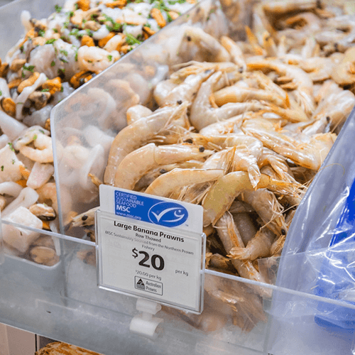 Is seafood with the blue fish tick really sustainable?