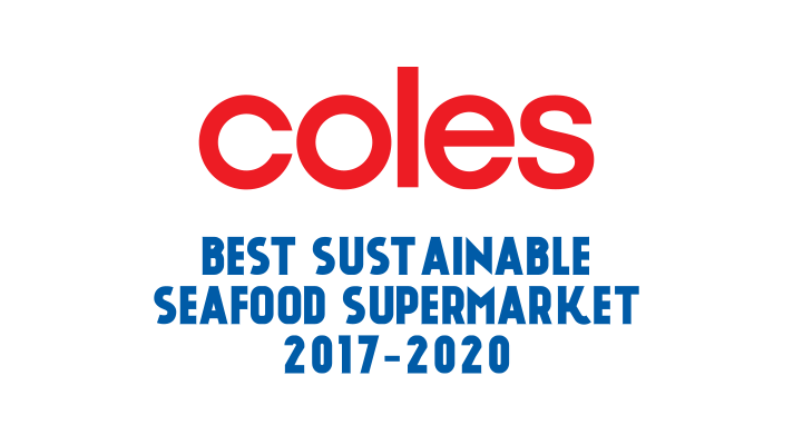 Coles - best sustainable seafood supermarket 2017-2020