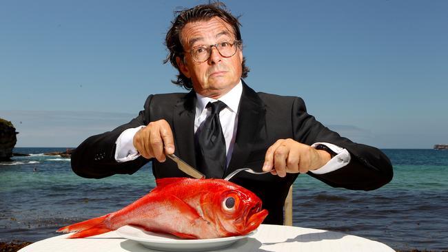 John Susman with a fish