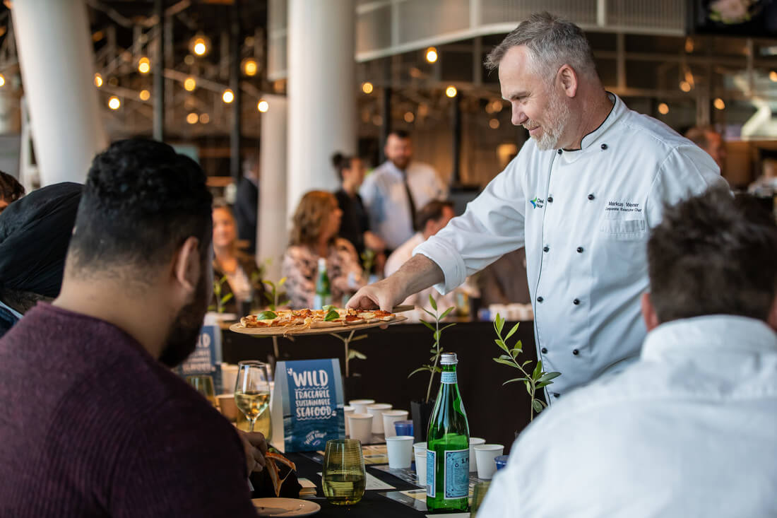 Markus Werner, Corporate Executive Chef, Delaware North at the Executive Chefs Club in Melbourne on 8 October