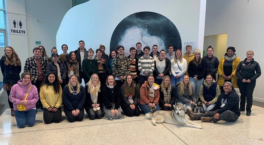 University of Canterbury STEM teacher trainee group