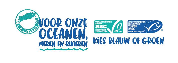 Bewuste Visweek logo horizontaal