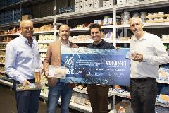 En dix ans, lassortiment de produits portant le label MSC a fortement augmente dans tous les supermarches