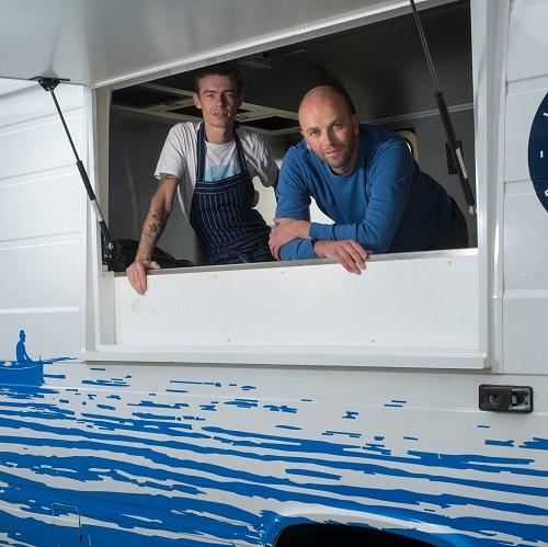 Jean sur Mer in Foodtruck voor spotlight nieuwsberichten