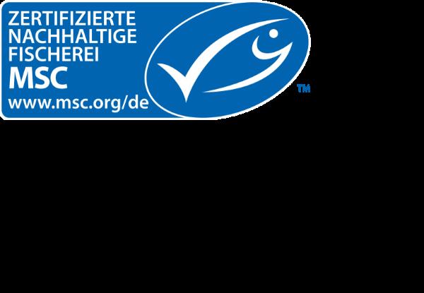 MSC Logo (Marine Stewardship) Landscape orientation
