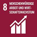 SDG 8: Menschenwürdige Arbeit und Wirtschaftswachstum fördern