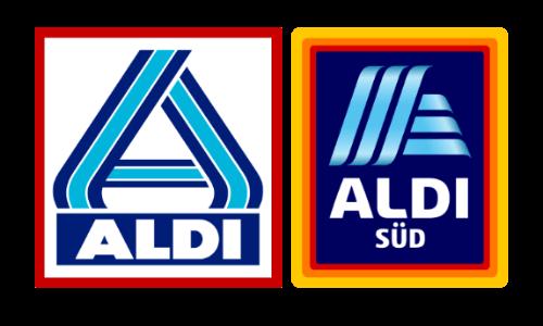 logos aldi nord und aldi sued