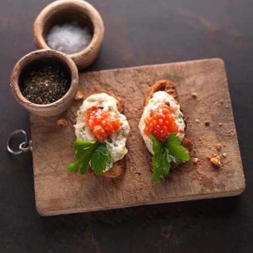 Thunfischcrème mit Kapern und Tomatenkernen: Salsa Tonnata