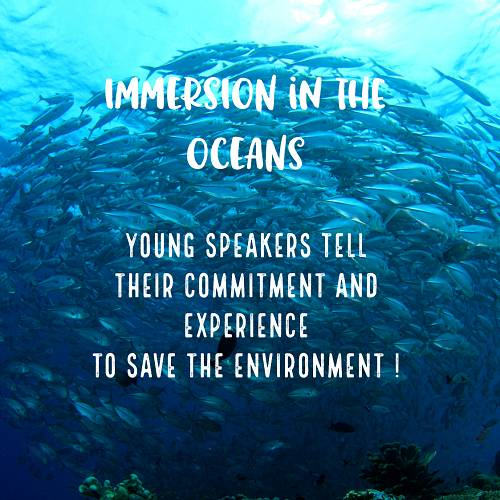 Immersion in the oceans