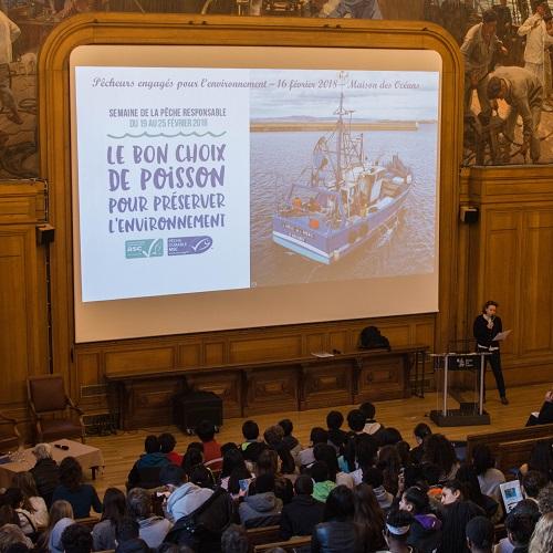 Conference Semaine Peche Responsable 2018 - Maison des Oceans