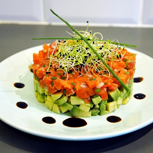 recette-tartare-saumon-avocat Food4Good