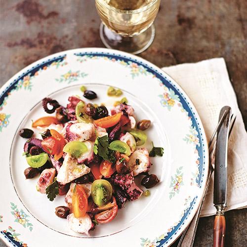 polipo pescato sostenibile in insalata