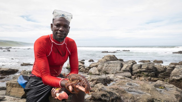 South Africa lobster fisherman from Fish for Good
