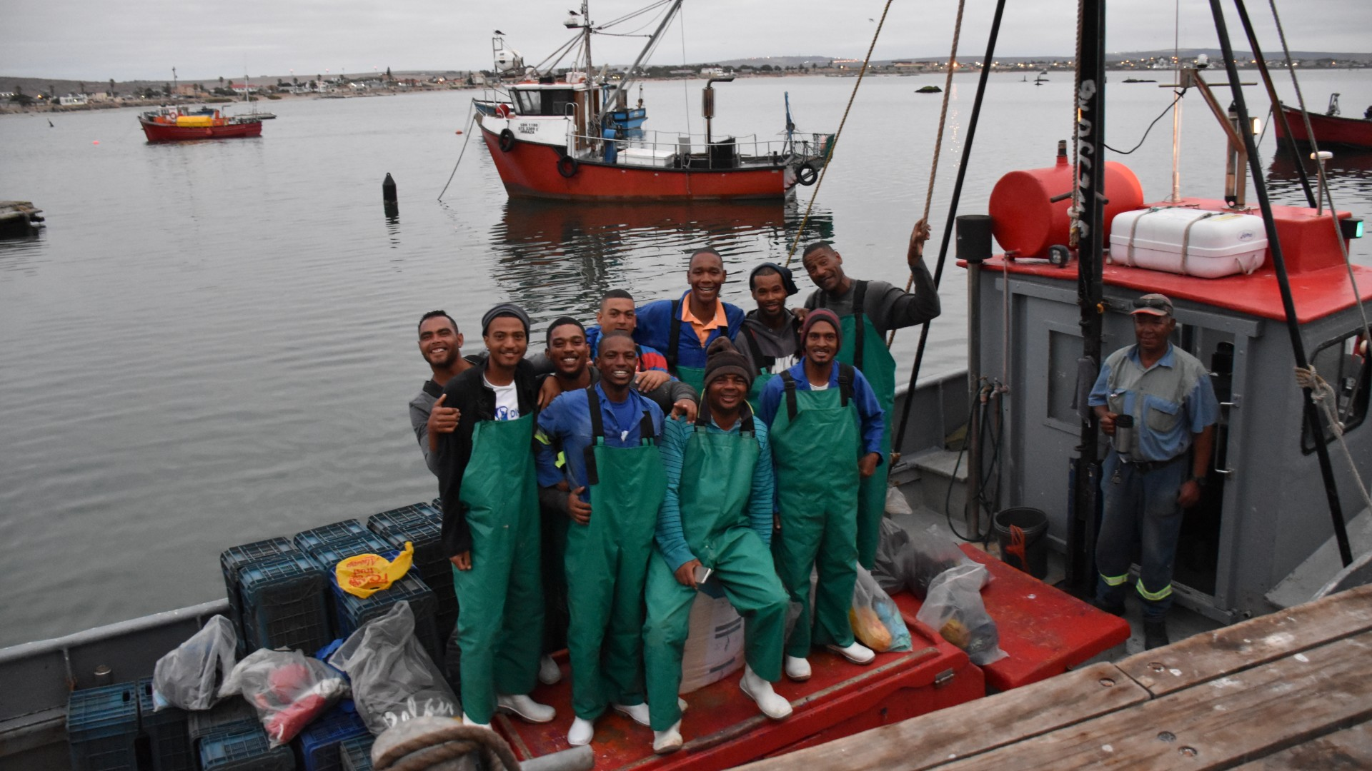South Africa Fish for Good mussel fishers