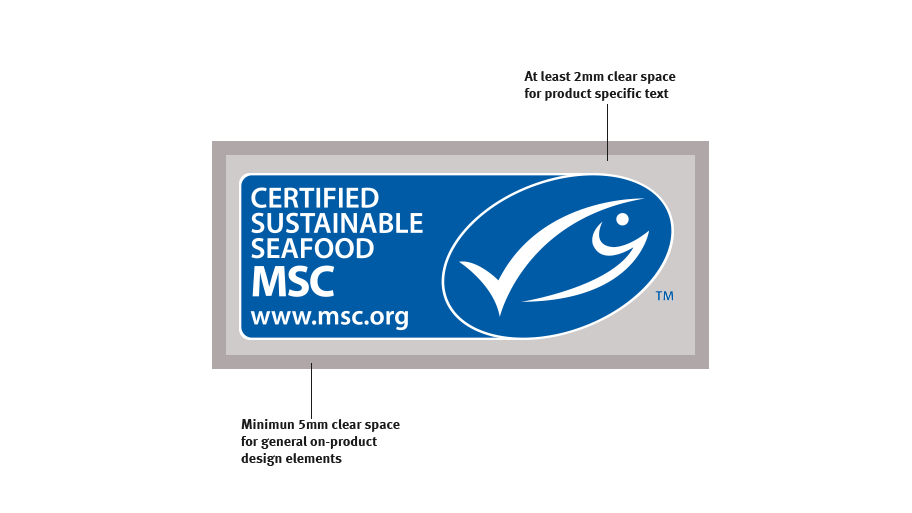 Clear space around MSC label