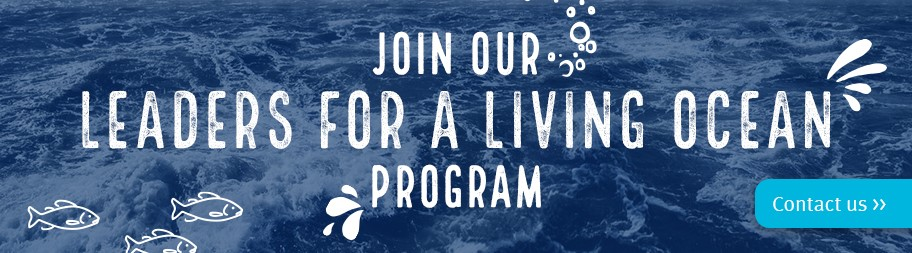 Join our Leaders for a Living Ocean program banner button