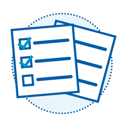 Assessment preparation icon
