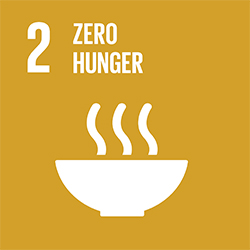 SDG 2 Zero Hunger icon
