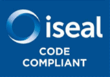 ISEAL Code compliant badge