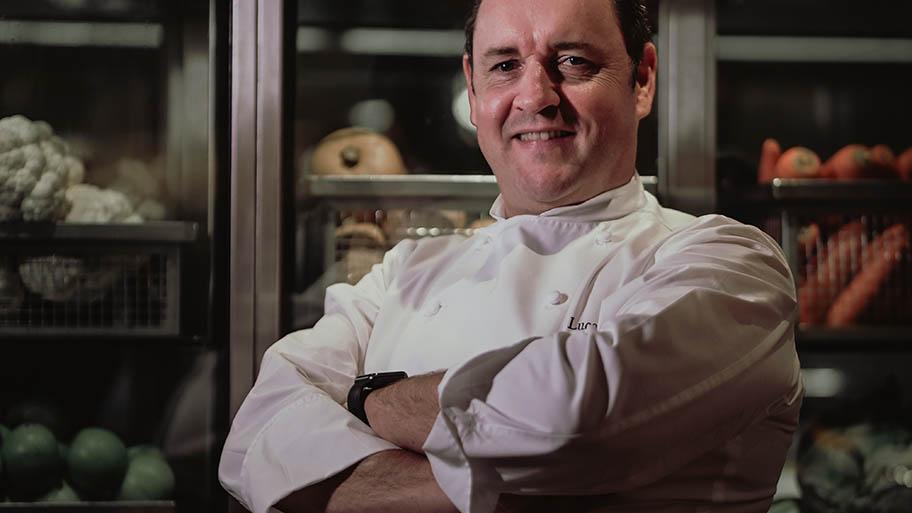 Portrait of chef Lucas Glanville