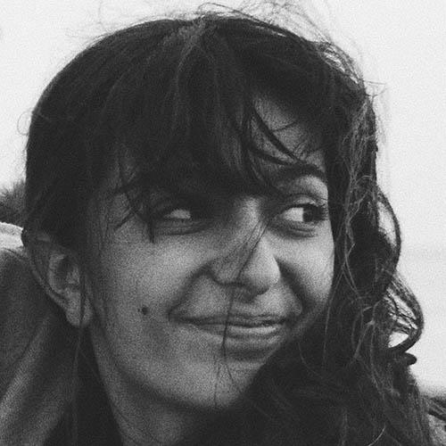 Black and white portrait photo of Nicola Tsiolis