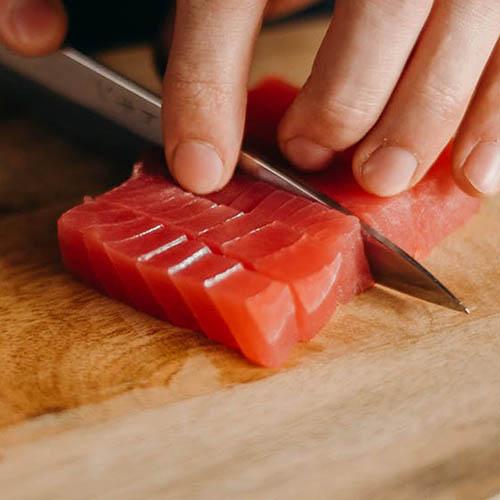 500 tuna cut