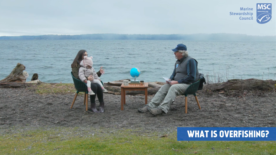 """still from MSC video: """"Conver-sea-tions: Ask An Expert, Seafood Sustainability"""""""