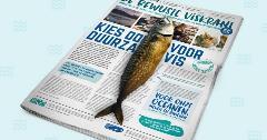 Bewuste Viskrant in het Vlaams
