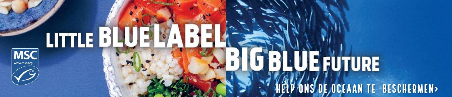 Little blue label, big blue future