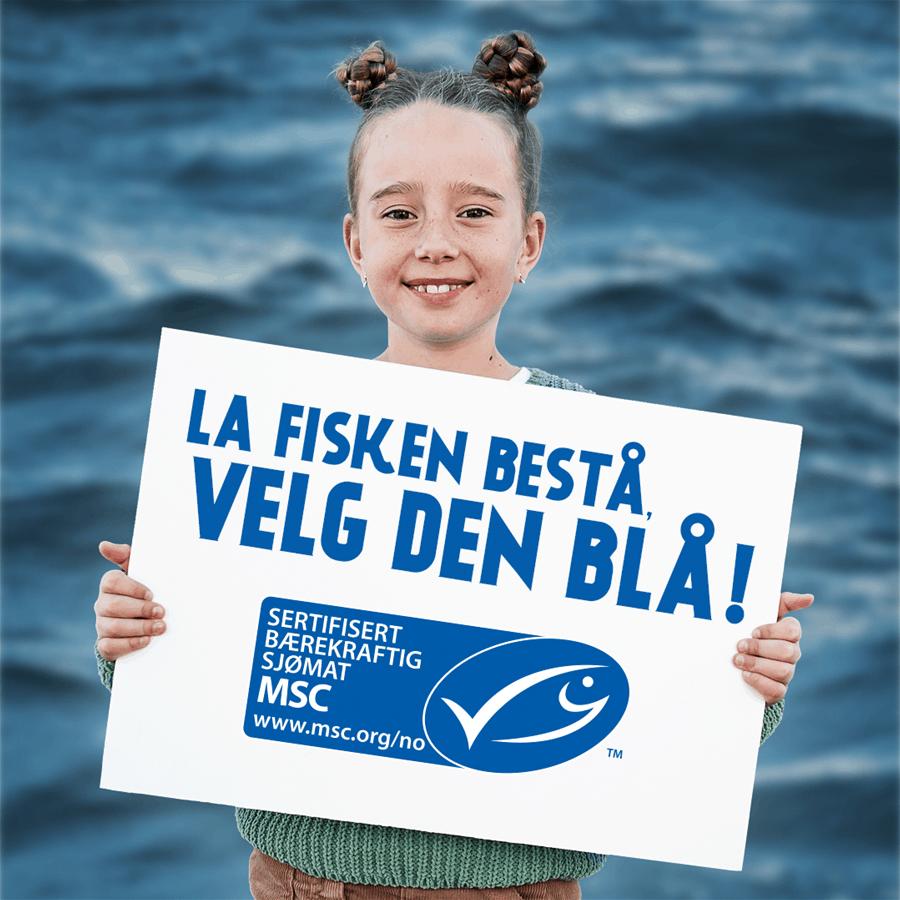 La fisken bestå, velg den blå!