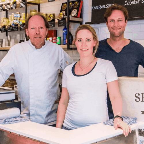 Fons Fleur en Pepijn Vischer van The Seafood Bar Nederland