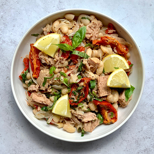 tom brown tuna salad